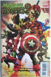 Marvel Zombies 2 #1 Dynamic Force Signed Arthur Suydam DF COA Ltd 900 comic book